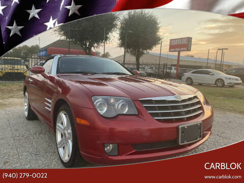 2005 Chrysler Crossfire for sale at CARBLOK in Lewisville TX