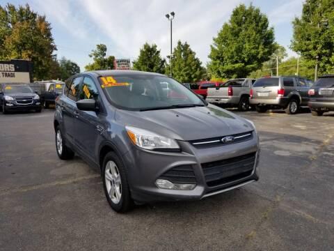 2014 Ford Escape for sale at New Clinton Auto Sales in Clinton Township MI