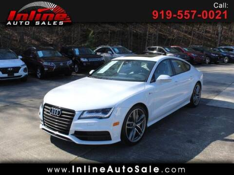 2015 Audi A7 for sale at Inline Auto Sales in Fuquay Varina NC
