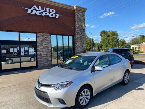 2015 Toyota Corolla for sale at Auto Depot of Smyrna in Smyrna TN
