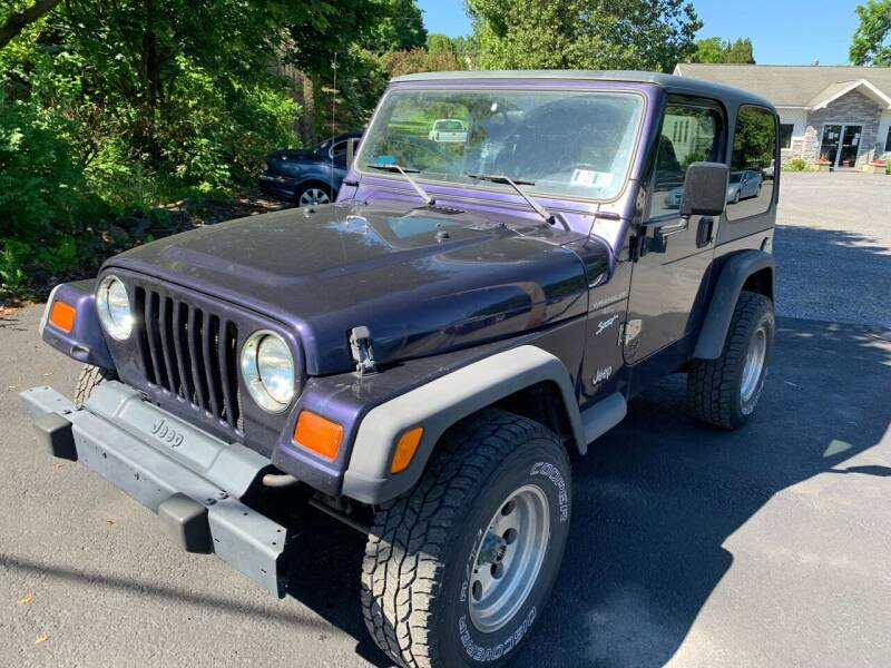 1998 Jeep Wrangler for sale at walts auto in Cherryville PA