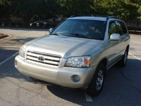 2006 Toyota Highlander for sale at Uniworld Auto Sales LLC. in Greensboro NC