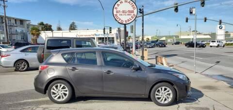 2012 Mazda MAZDA3 for sale at San Mateo Auto Sales in San Mateo CA