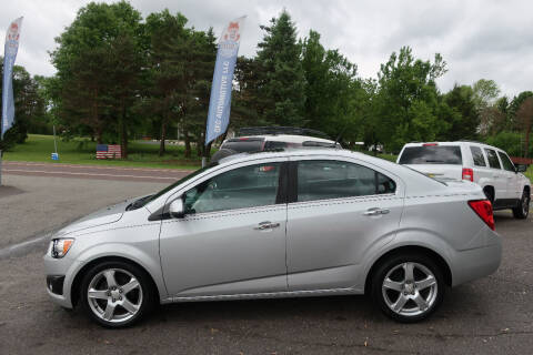2012 Chevrolet Sonic for sale at GEG Automotive in Gilbertsville PA