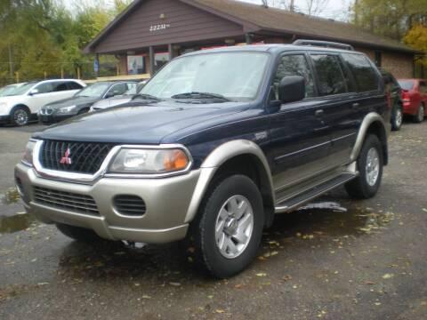 2001 Mitsubishi Montero Sport for sale at Automotive Center in Detroit MI