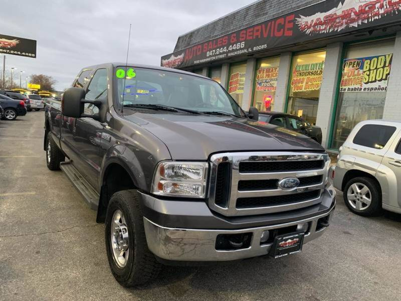 2006 Ford F-250 Super Duty for sale at Washington Auto Group in Waukegan IL