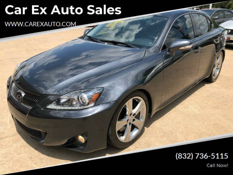 2011 Lexus IS 350 for sale at Car Ex Auto Sales in Houston TX