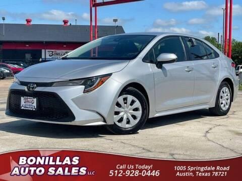 2020 Toyota Corolla for sale at Bonillas Auto Sales in Austin TX