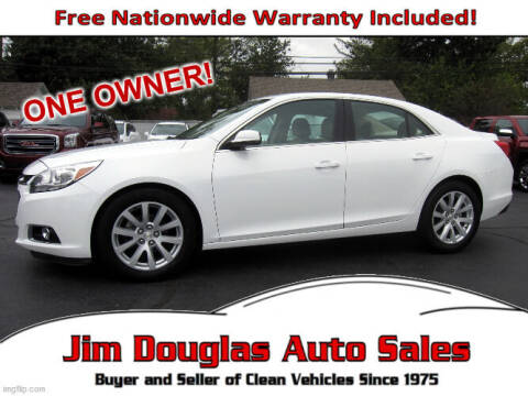 2015 Chevrolet Malibu for sale at Jim Douglas Auto Sales in Pontiac MI