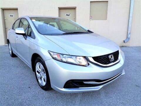 2013 Honda Civic for sale at Selective Motor Cars in Miami FL