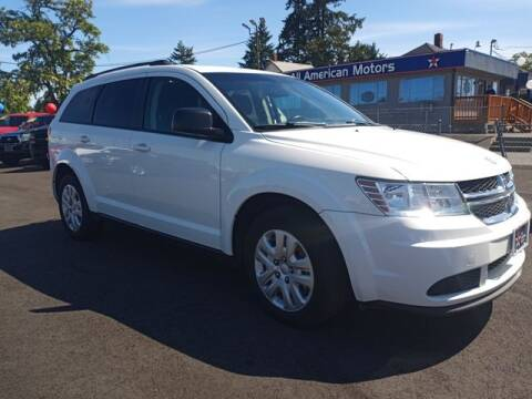 2017 Dodge Journey for sale at All American Motors in Tacoma WA
