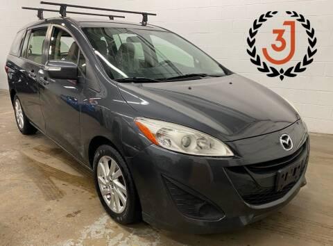 2014 Mazda MAZDA5 for sale at 3 J Auto Sales Inc in Arlington Heights IL