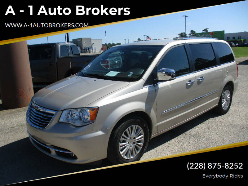 2014 Chrysler Town and Country for sale at A - 1 Auto Brokers in Ocean Springs MS