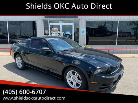 2014 Ford Mustang for sale at Shields OKC Auto Direct in Oklahoma City OK