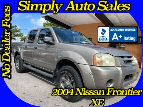 2004 Nissan Frontier for sale at Simply Auto Sales in Palm Beach Gardens FL