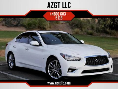2018 Infiniti Q50 for sale at AZGT LLC in Phoenix AZ