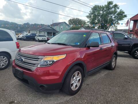 2014 Ford Explorer for sale at Sissonville Used Car Inc. in South Charleston WV
