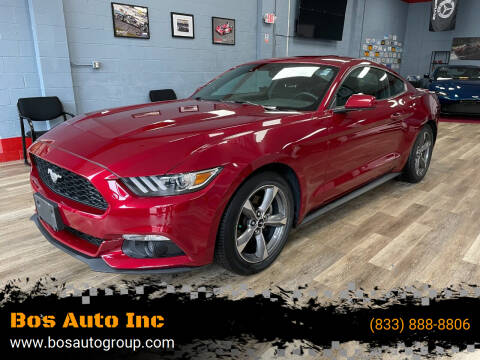 2017 Ford Mustang for sale at Bos Auto Inc in Quincy MA