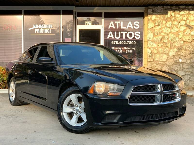 2013 Dodge Charger for sale at ATLAS AUTOS in Marietta GA