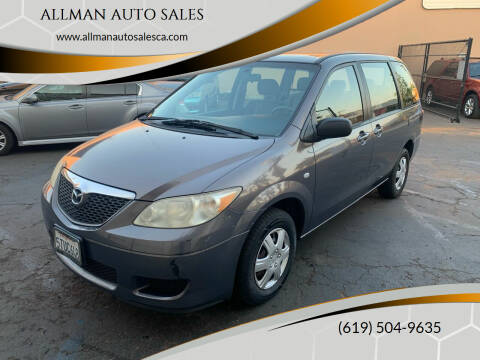 2006 Mazda MPV for sale at ALLMAN AUTO SALES in San Diego CA