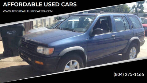 1996 Nissan Pathfinder for sale at AFFORDABLE USED CARS in Richmond VA