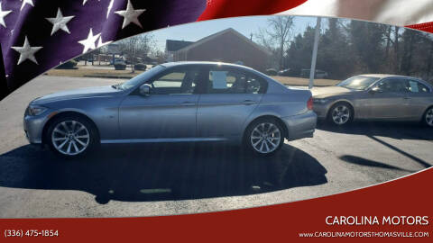 2011 BMW 3 Series for sale at CAROLINA MOTORS in Thomasville NC