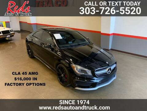 2014 Mercedes-Benz CLA for sale at Red's Auto and Truck in Longmont CO