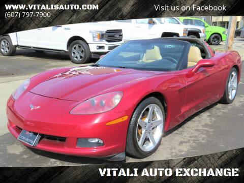 2005 Chevrolet Corvette for sale at VITALI AUTO EXCHANGE in Johnson City NY