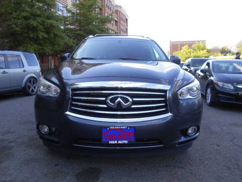 2014 Infiniti QX60 for sale at H & R Auto in Arlington VA