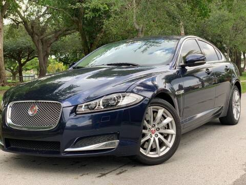 2014 Jaguar XF for sale at HIGH PERFORMANCE MOTORS in Hollywood FL