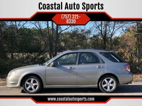2006 Subaru Impreza for sale at Coastal Auto Sports in Chesapeake VA