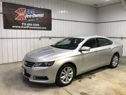 2017 Chevrolet Impala for sale at Karl Pre-Owned in Glidden IA