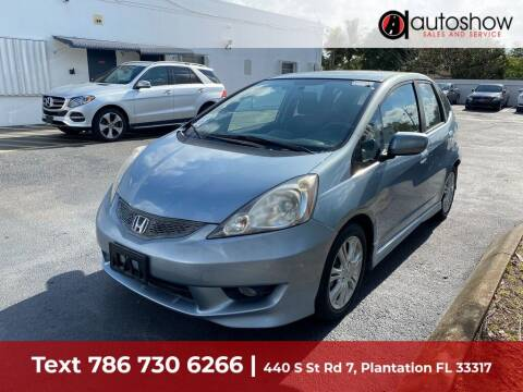 2011 Honda Fit for sale at AUTOSHOW SALES & SERVICE in Plantation FL