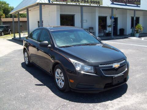 2012 Chevrolet Cruze for sale at LONGSTREET AUTO in St Augustine FL