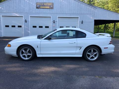 1995 Ford Mustang SVT Cobra for sale at Cella  Motors LLC in Auburn NH