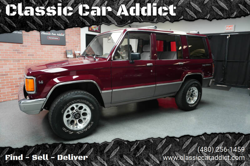 1991 Isuzu Trooper for sale at Classic Car Addict in Mesa AZ