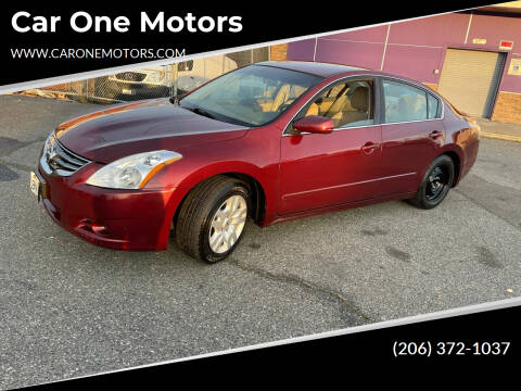 2012 Nissan Altima for sale at Car One Motors in Seattle WA