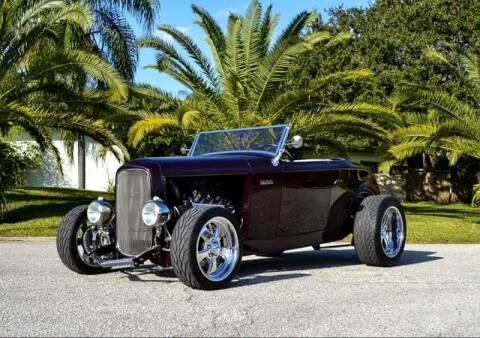 1932 Ford Roadster for sale at P J'S AUTO WORLD-CLASSICS in Clearwater FL