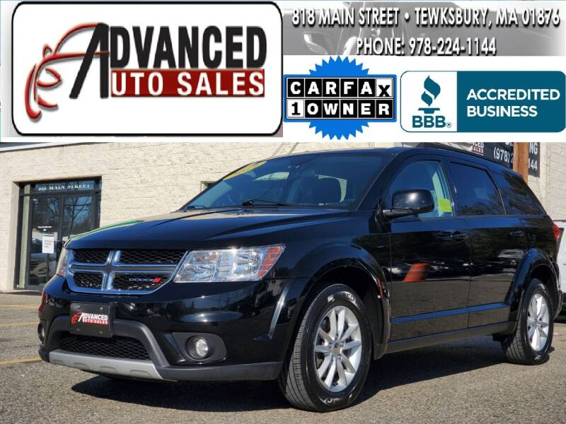 2014 Dodge Journey for sale at Advanced Auto Sales in Tewksbury MA