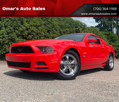 2014 Ford Mustang for sale at Omar's Auto Sales in Martinez GA