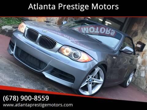 2011 BMW 1 Series for sale at Atlanta Prestige Motors in Decatur GA