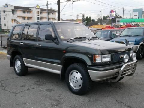 1993 Isuzu Bighorn 4WD for sale at JDM Car & Motorcycle LLC in Seattle WA