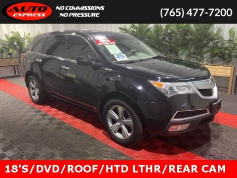 2010 Acura MDX for sale at Auto Express in Lafayette IN