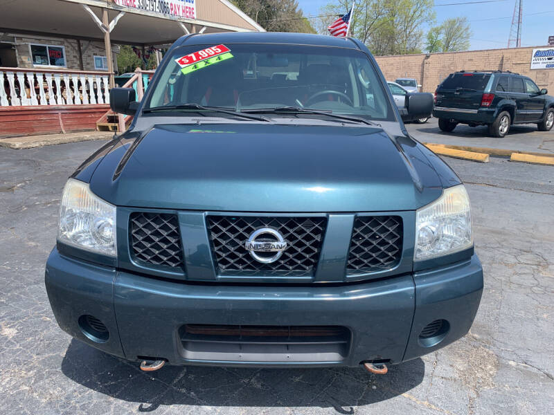 2007 Nissan Titan for sale at JORDAN AUTO SALES in Youngstown OH