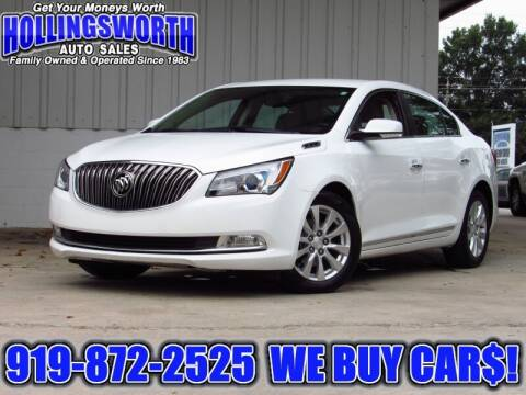 2015 Buick LaCrosse for sale at Hollingsworth Auto Sales in Raleigh NC