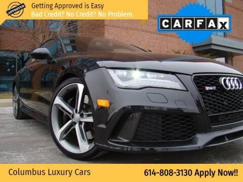 2015 Audi RS 7 for sale at Columbus Luxury Cars in Columbus OH