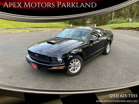 2007 Ford Mustang for sale at Apex Motors Parkland in Tacoma WA