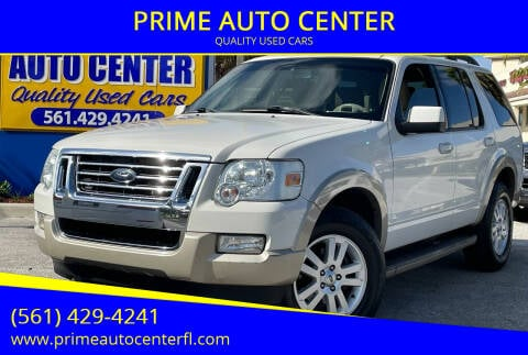 2010 Ford Explorer for sale at PRIME AUTO CENTER in Palm Springs FL