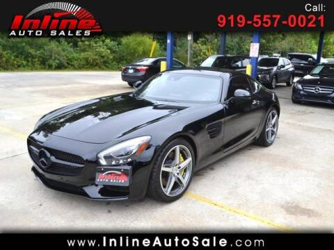 2017 Mercedes-Benz AMG GT for sale at Inline Auto Sales in Fuquay Varina NC