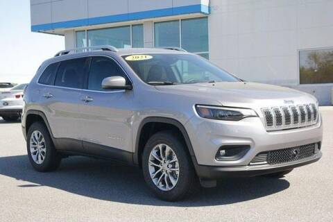 2021 Jeep Cherokee for sale at WHITE MOTORS INC in Roanoke Rapids NC